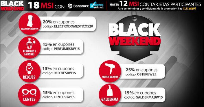 Walmart: Cupones de Descuentos para el Black Weekend