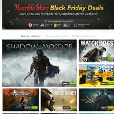 Ofertas black friday humble bundle