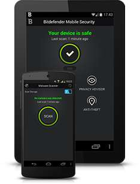 Bitdefender para Android Licencia 6 meses