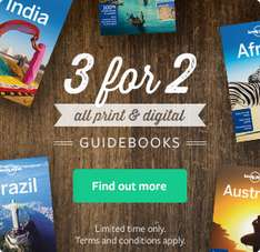 2x1 en guias Lonely Planet con cupón