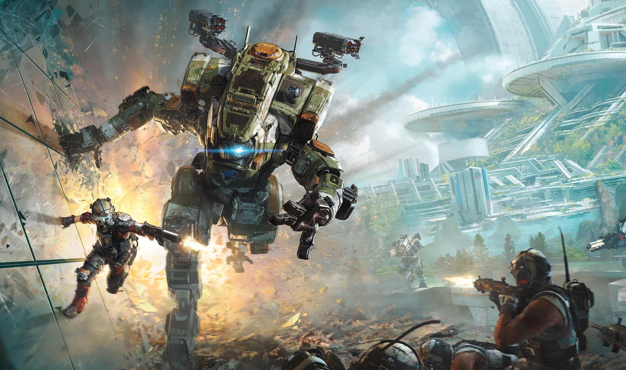 Origin: Titanfall 2 PC Prueba gratuita de 10,000 horas