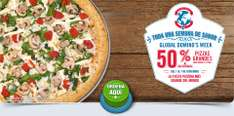 Domino's Pizza Global Week: 50% de descuento en pizzas grandes