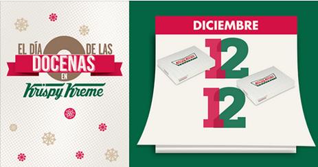 Krispy Kreme: 2x1 en docenas el 12 de diciembre (se necesita FB)