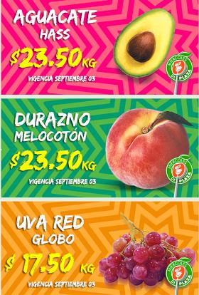 Miércoles de Plaza en La Comer septiembre 3: uva $17.50 y más