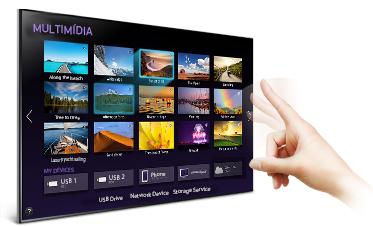 """Linio: Pantalla Samsung UN48H5550 Smart TV 48"""" en $7182 (+ cupón de $500 pagando con PayPal en la APP)"""