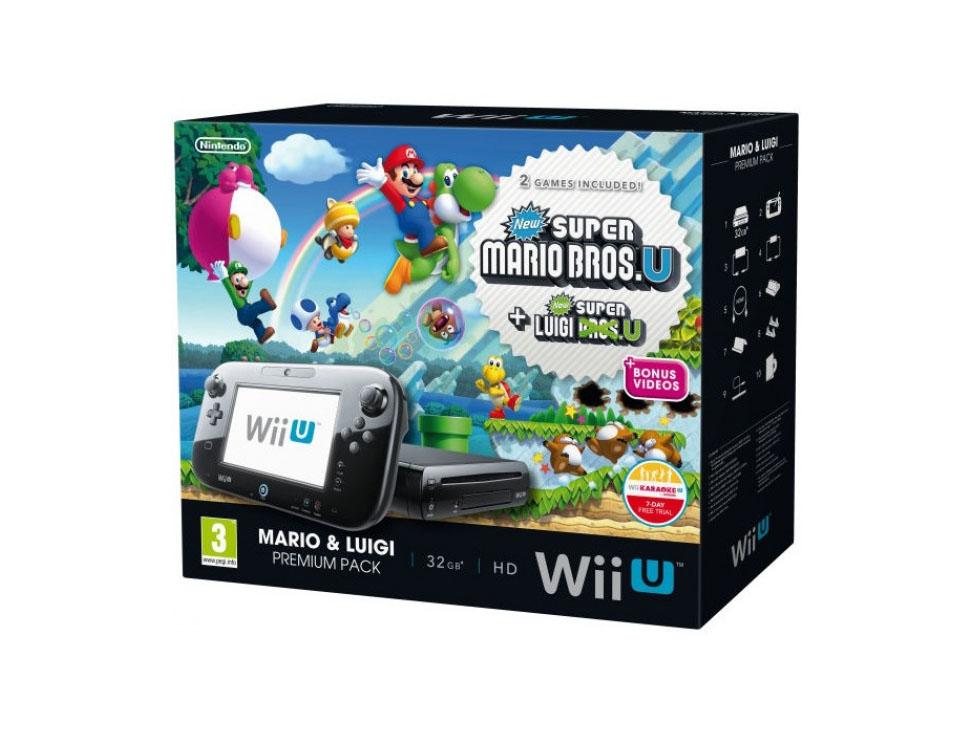 Liverpool: Wii U 32 GB + New Super Mario U + New Super Luigui U $4,814