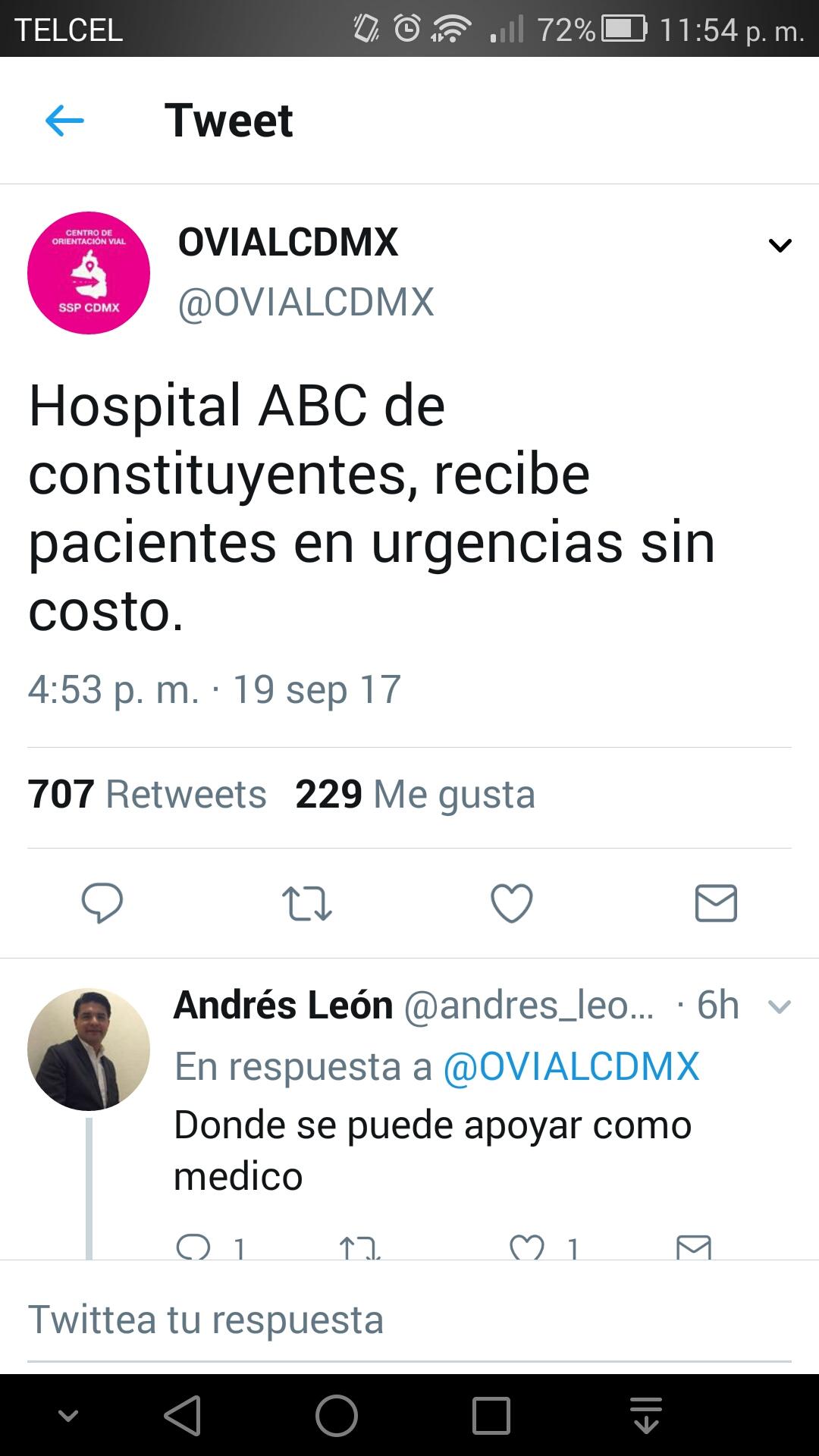 Hay q apoyar!! Hospitales privados, centros de acopio y albergues en CDMX