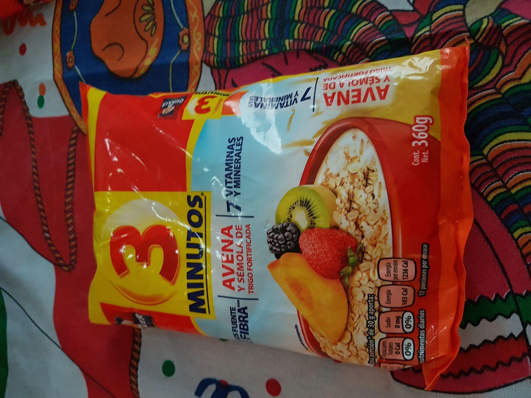 Walmart: Avena Quaker 360g a $10