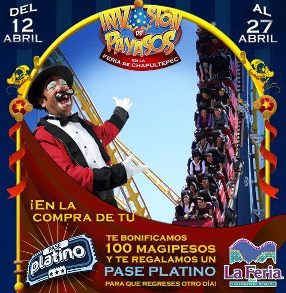 La Feria de Chapultepec: boleto para segunda visita gratis y regalos por $100 magipesos
