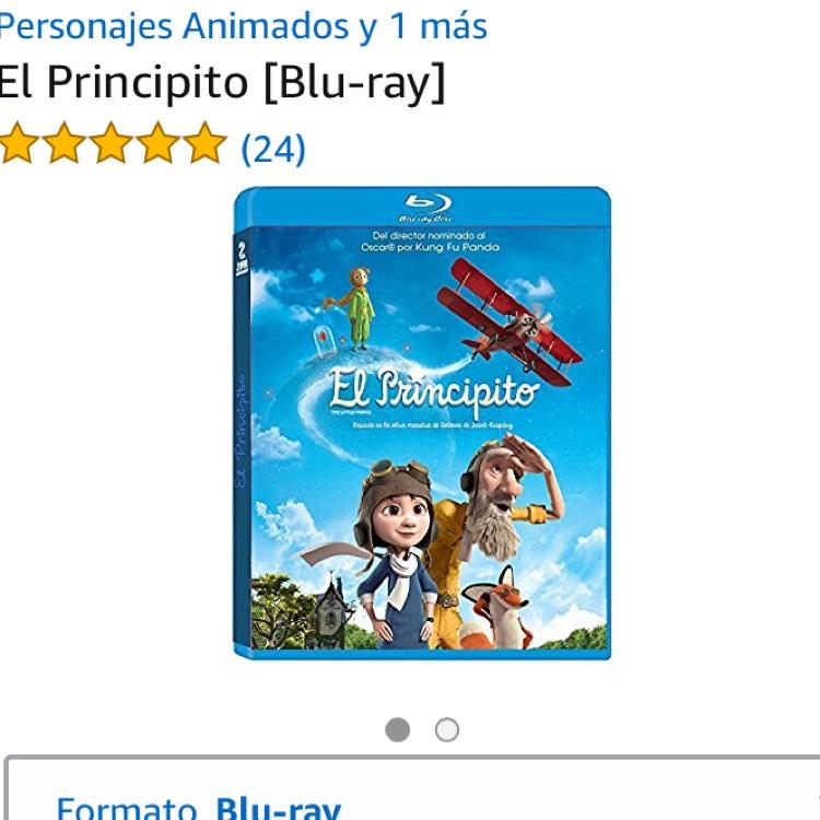 Amazon: El Principito (Blu-ray) $92