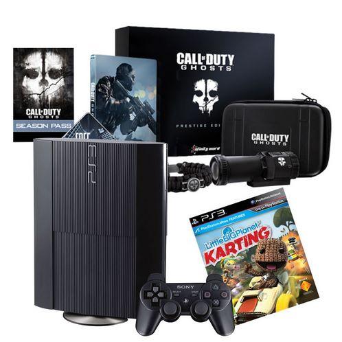 Walmart: PS3 de 12GB + Call of Duty Ghosts Prestige $3,990 ó $3,591