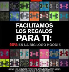 Under Armour 50% en Big Logo Hoodie