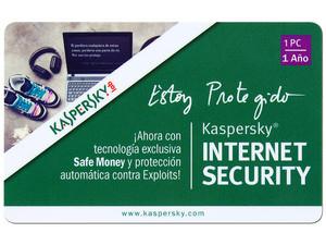 PCEL: Kaspersky Internet Security 2013, 1 PC, 1 Año $99