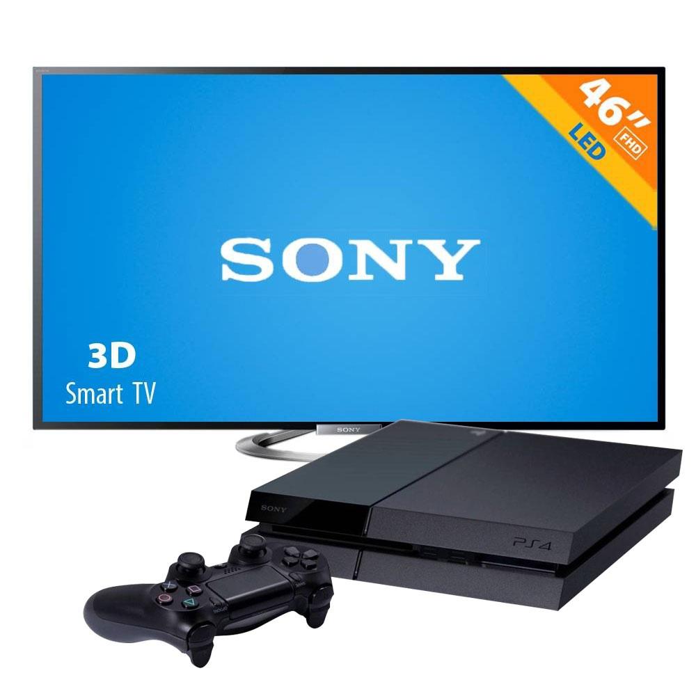 """Walmart.com.mx: Pantalla Sony 3D 46"""" más PS4 $13,491"""