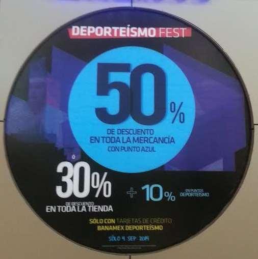 Martí Deporteísmo Fest: hasta 50% de descuento pagando con Banamex