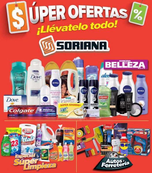 Folleto de ofertas en Soriana del 11 al 24 de abril