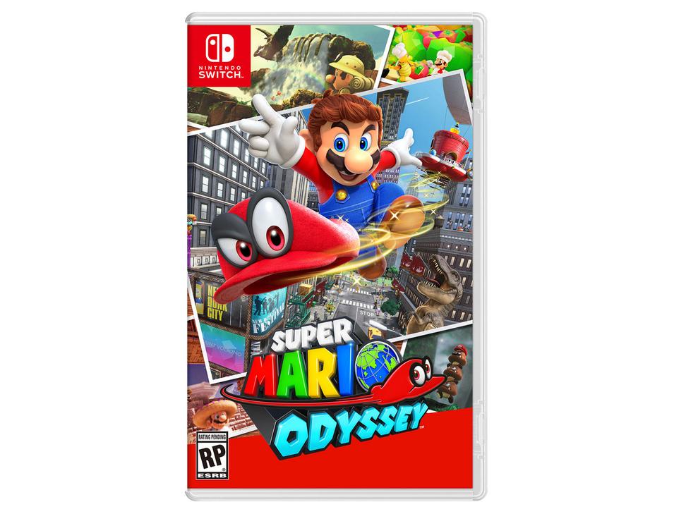Liverpool: Super Mario Odyssey (precio mas bajo sin cupón)