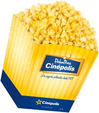 Cinepolis: Palomitas medianas gratis en la 4ta visita (solo socios nivel Fan)