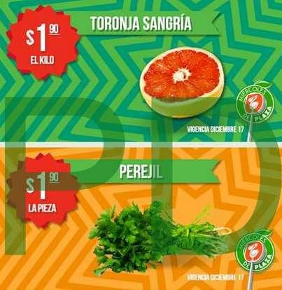 Miércoles de Plaza en La Comer diciembre 17: toronja $1.90 el kilo y más