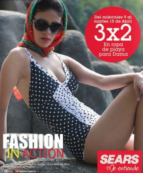 Sears: 3x2 en ropa de playa de mujer