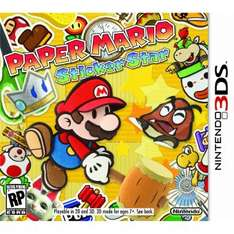 Linio: Paper Mario Sticker Star Nintendo 3DS $249