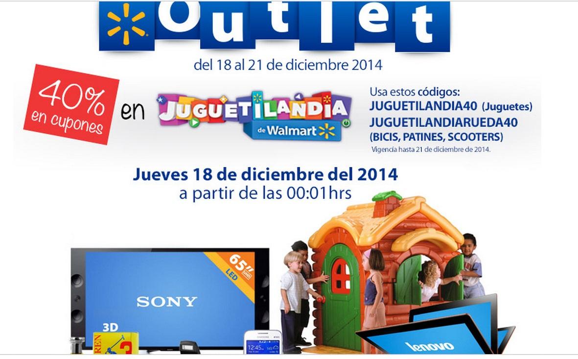 Walmart: outlet tienda online diciembre 18