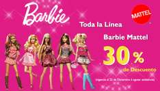Juguetibici descuentos 30% barbie 40% monster high 40% power whells