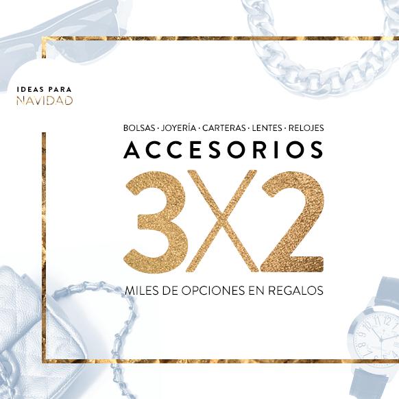 dafiti: 3x2 en accesorios de mujer