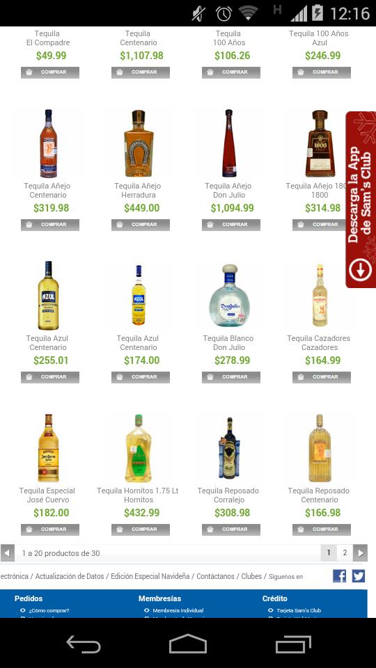 Sam's Club: Tequila Gran Centenario barato mas 6x5 en botellas