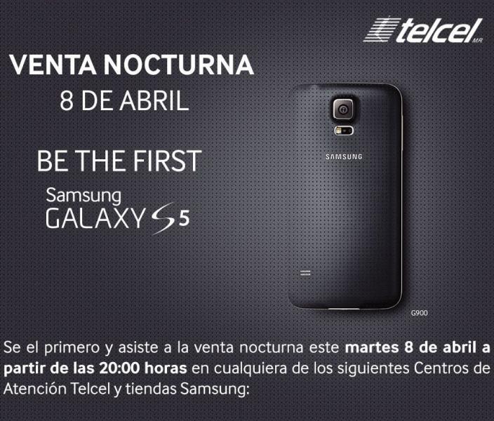 Promoción y precio de lanzamiento Samsung Galaxy S5