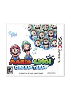ClickOnero: 3DS Maro and Luigi Dream Team en $239+$79 de envio y descuento con winbits