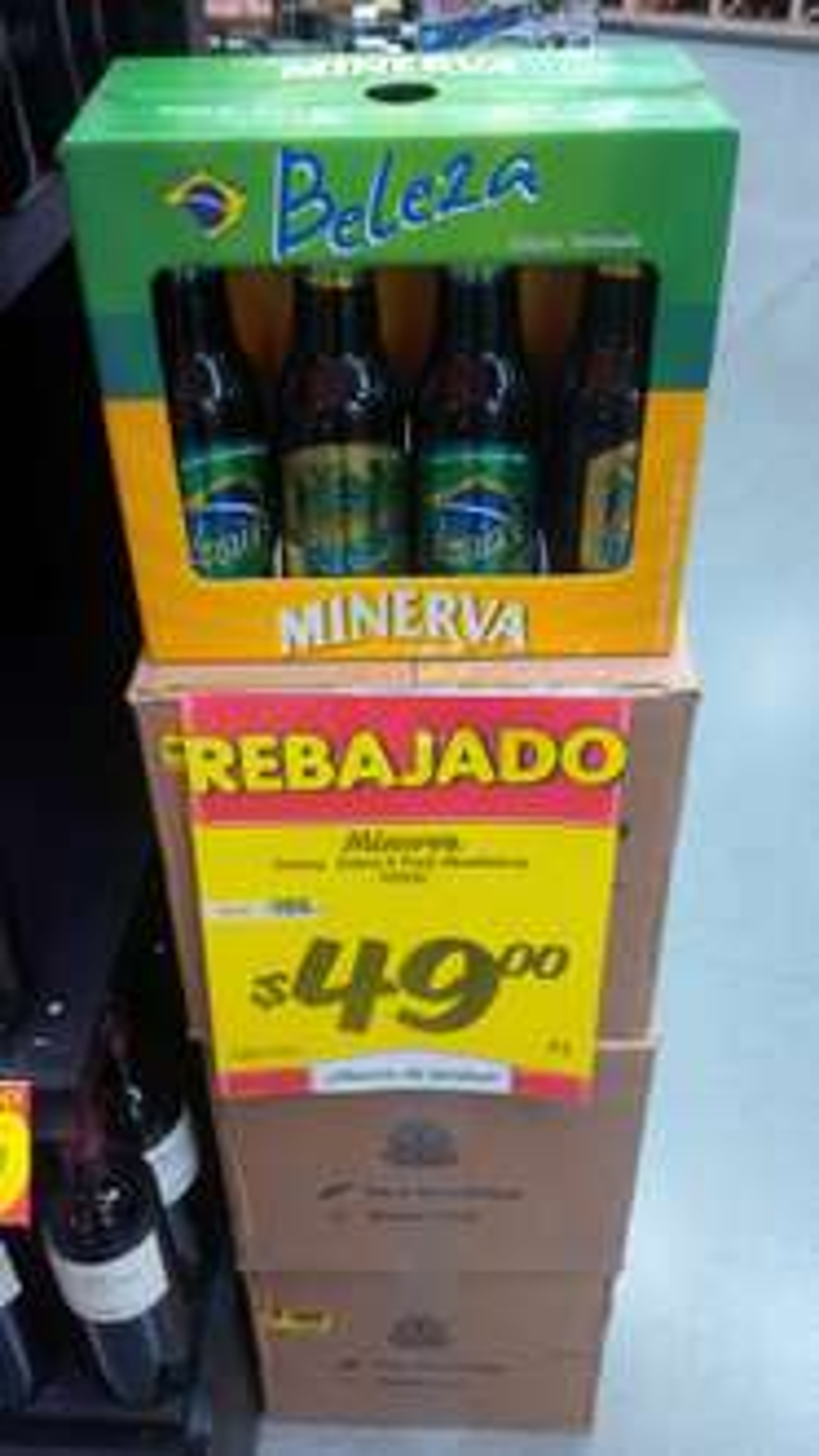 HEB: 8 Pack Cerveza Minerva