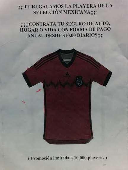 Banamex: jersey de la selección mexicana contratando seguro