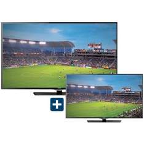 """Best Buy: Television HAIER LED 55"""" y de regalo LED 32"""" + $150 en cupones por cada 1000 con banamex"""
