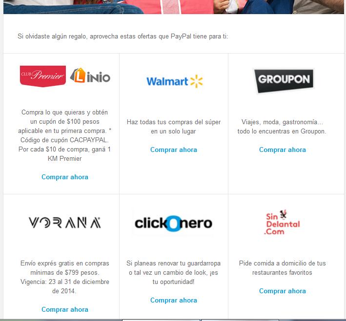 Linio: Cupon $100 sin mínimo de compra con Paypal