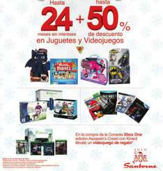 Sanborns: gratis juego a elegir al comprar Xbox One con Assassin's Creed Unity