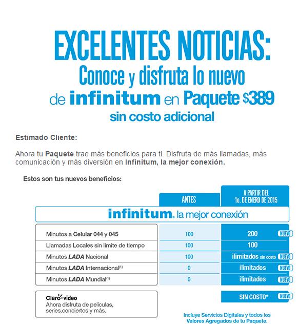 Telmex: 200 minutos a celulares, larga distancia mundial ilimitada e internet 10MB por $389