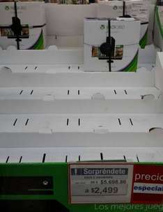 Sam's Club: Xbox 360 de 250GB con Kinect $2,499