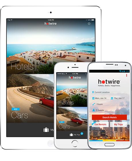 Hotwire: $25 dólares de descuento en reservas de $100 desde la app