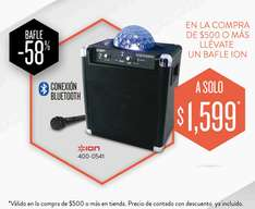 RadioShack: bocina bluetooth Party Rocker $1,599 con compra mínima (regular $3,899)
