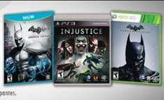 Sanborns: Injustice $284 y Batman Arkham Origins $474