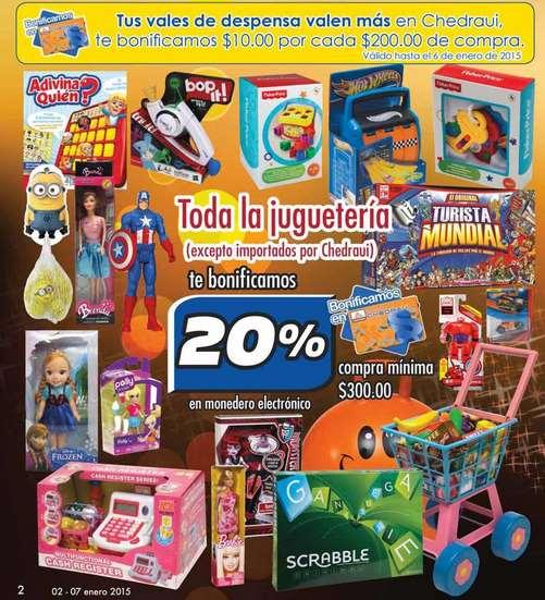 Chedraui: bonificación en todos los juguetes, bicicletas, dulces y más
