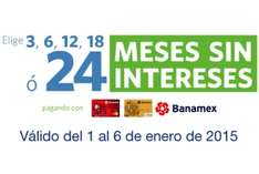 SAMS CLUB: 24 meses sin intereses