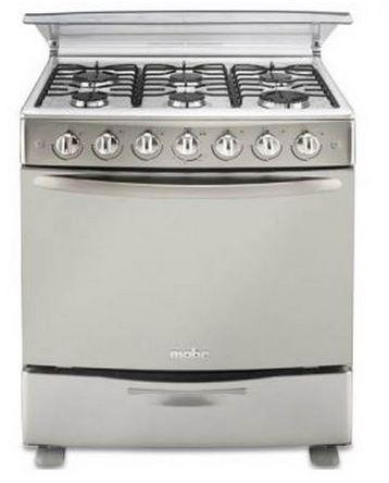 Linio: estufa Mabe 6 quemadores $1,799 y refrigerador dos puertas 513L $3,329