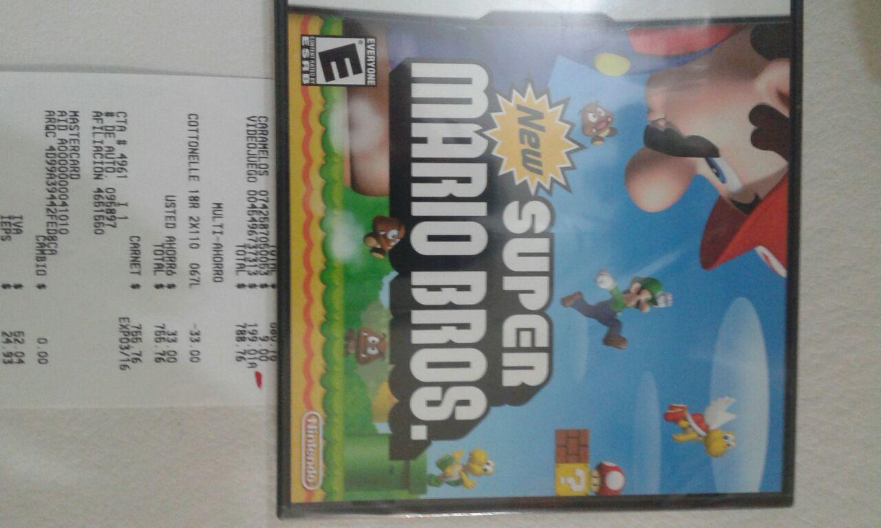 Walmart: Ofertas en juegos de Nintendo DS