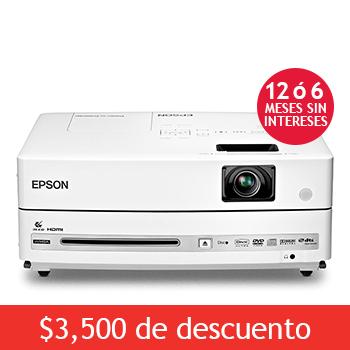 Costco: Proyector Epson con dvd  $5,499