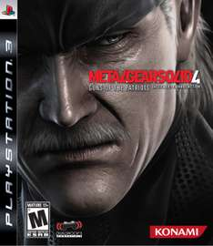 Gamers: Metal Gear Solid 4 PS3 $249