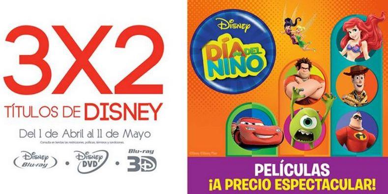 Blockbuster: 3x2 ó 30% de descuento en películas de Disney (incluye Frozen)