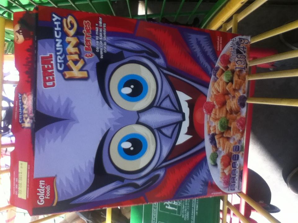 Bodega Aurrera: cereal para niños de avena y maiz $1.03
