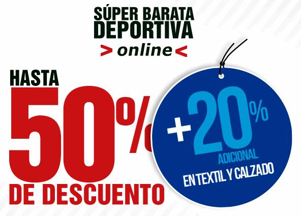 Martí y Dportenis: 20% de descuento adicional en rebajas